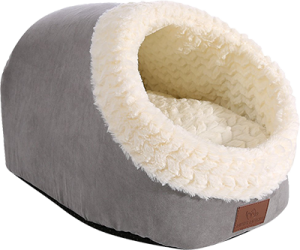 Cat Bed Round and Cave Shape Warming Bed