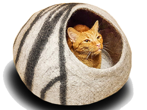 Merino Wool Bed for Cats and Kittens