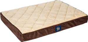 Ortho Quilted Pillowtop Pet Bed
