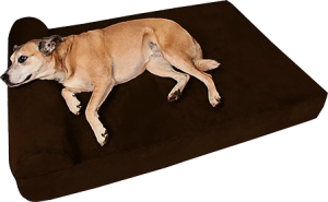 Pillow Top Orthopedic Bed For Golden Retriever