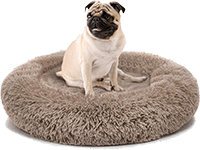 Domipet Small Dog Donut Bed