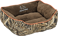 Realtree Edge Camo Premium Bolstered Lounger Pet Bed
