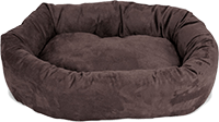 Suede Dog Bed By Majestic